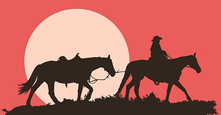 Illustration of Western Fiction