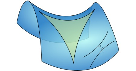 Illustration of Non-Euclidean Geometries
