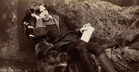 Illustration of Oscar Wilde