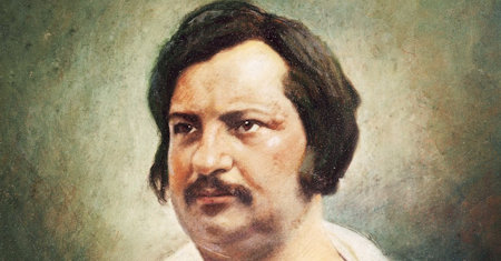 Illustration of Honore de Balzac