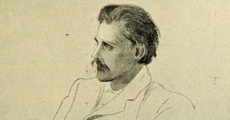 Illustration of George Gissing