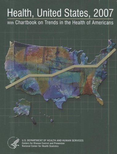 Large book cover: Health, United States: With Chartbook on Trends in the Health of Americans