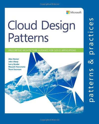 Large book cover: Cloud Design Patterns