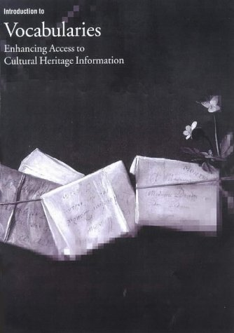 Large book cover: Introduction to Vocabularies: Enhancing Access to Cultural Heritage Information