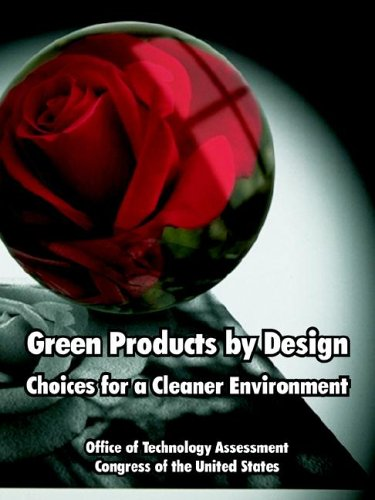 Large book cover: Green Products by Design: Choices for a Cleaner Environment