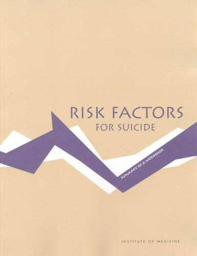 Large book cover: Risk Factors For Suicide