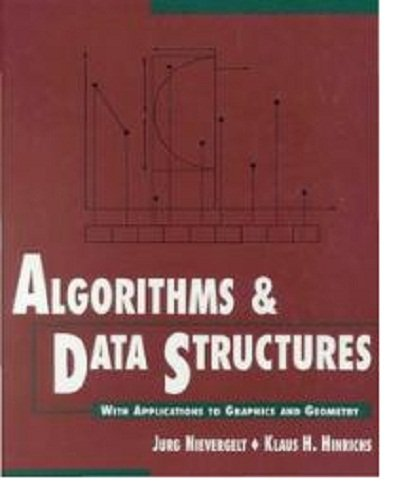 Large book cover: Algorithms and Data Structures: With Applications to Graphics and Geometry