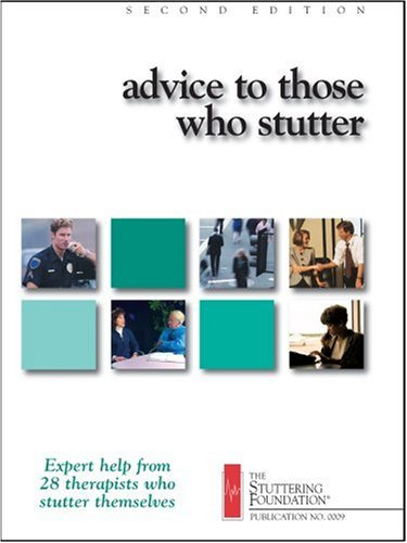 Large book cover: Advice to Those Who Stutter