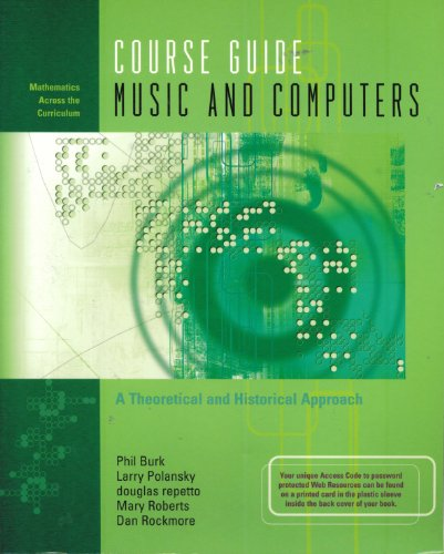 Large book cover: Music and Computers