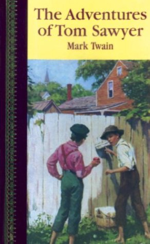 Large book cover: The Adventures of Tom Sawyer