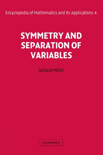 Large book cover: Symmetry and Separation of Variables