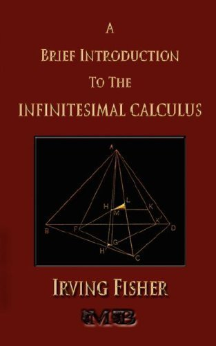 Large book cover: A Brief Introduction to the Infinitesimal Calculus