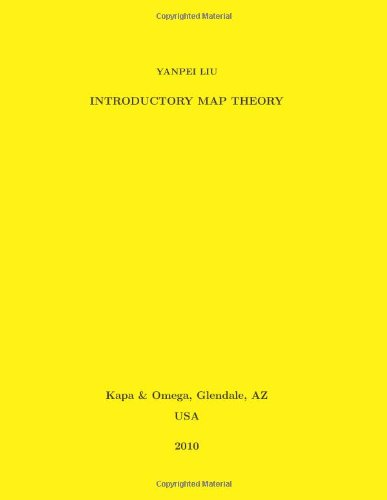 Large book cover: Introductory Map Theory