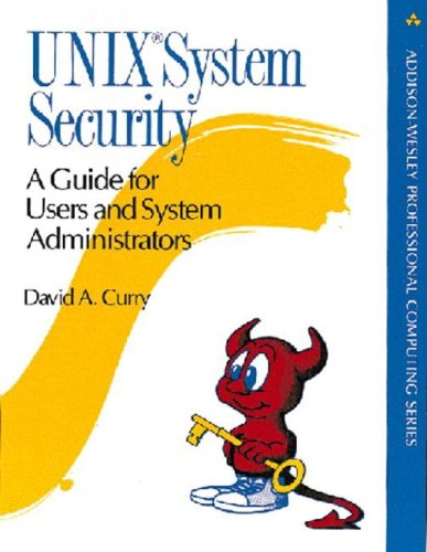 Large book cover: UNIX System Security: A Guide for Users and System Administrators