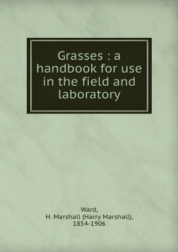 Large book cover: Grasses: a handbook for use in the field and laboratory