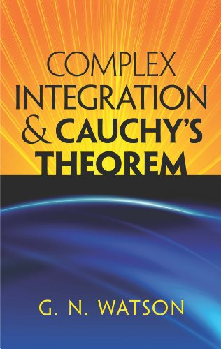 Large book cover: Complex Integration and Cauchy's Theorem