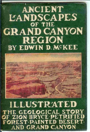 Large book cover: Ancient Landscapes of the Grand Canyon Region