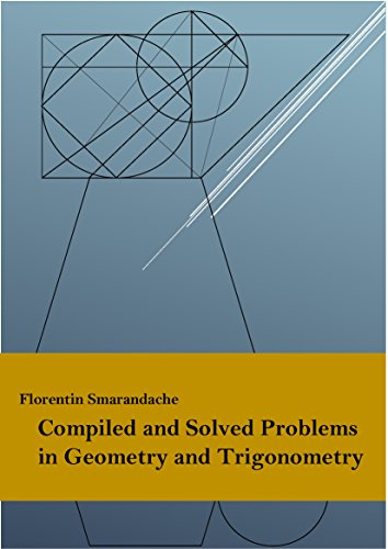 Large book cover: Compiled and Solved Problems in Geometry and Trigonometry