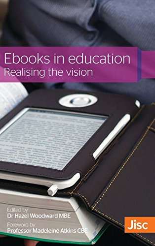 Large book cover: Ebooks in Education: Realising the Vision