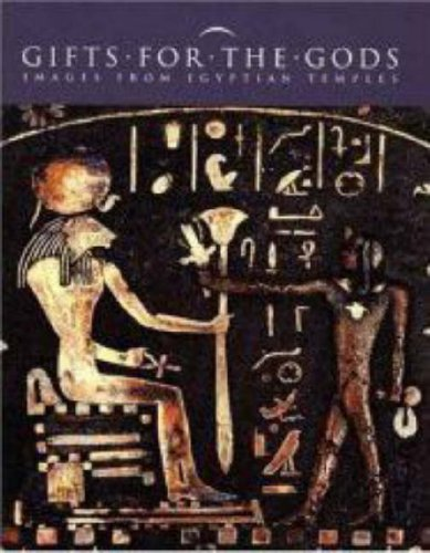 Large book cover: Gifts for the Gods: Images from Ancient Egyptian Temples