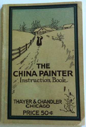 Large book cover: The China Painter Instruction Book