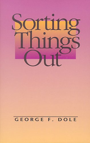 Large book cover: Sorting Things Out