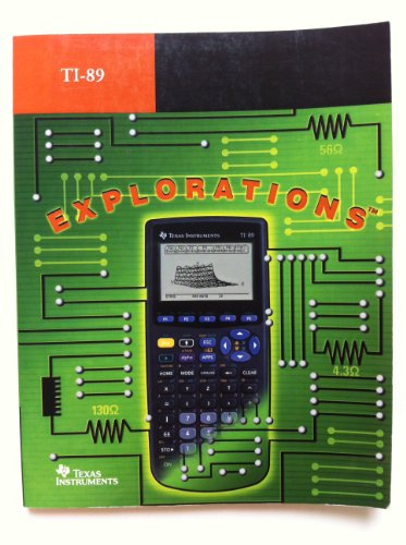 Large book cover: Electrical Engineering Applications with the TI-89