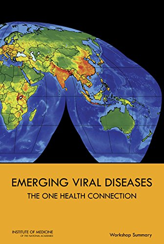 Large book cover: Emerging Viral Diseases: The One Health Connection