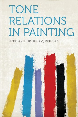 Large book cover: Tone Relations in Painting