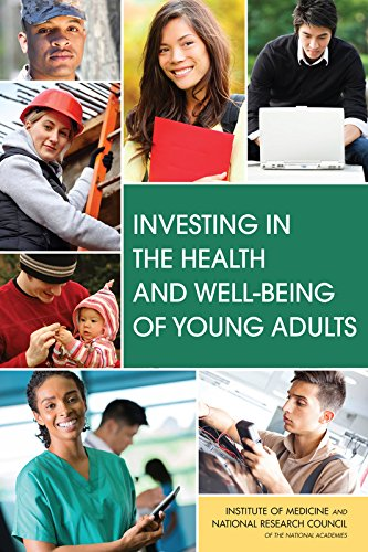 Large book cover: Investing in the Health and Well-Being of Young Adults