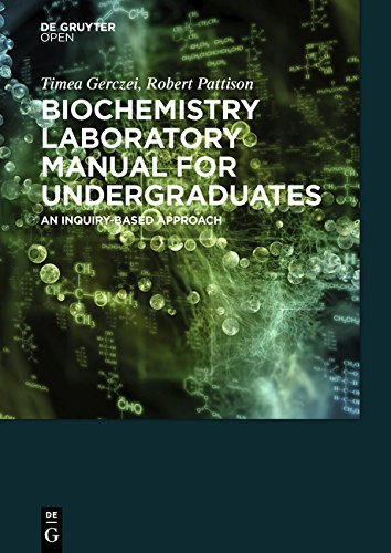 Large book cover: Biochemistry Laboratory Manual For Undergraduates