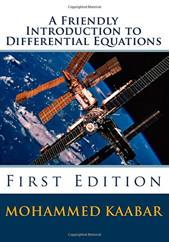 Large book cover: A Friendly Introduction to Differential Equations
