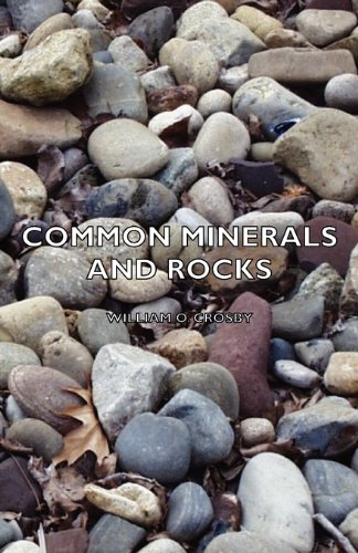 Large book cover: Common Minerals and Rocks