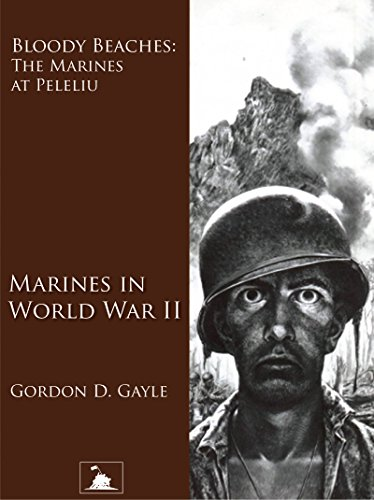 Large book cover: Bloody Beaches: The Marines at Peleliu