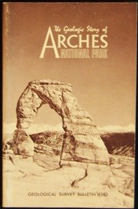Large book cover: The Geologic Story of Arches National Park