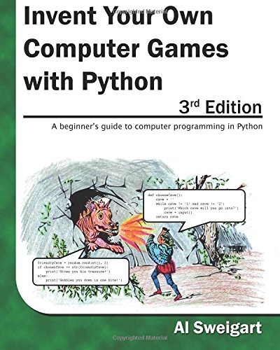 Large book cover: Invent Your Own Computer Games with Python