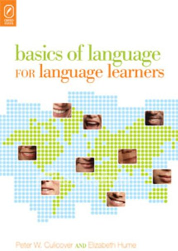 Large book cover: Basics of Language for Language Learners