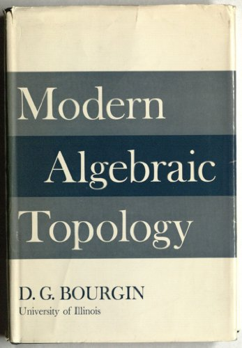 Large book cover: Modern Algebraic Topology