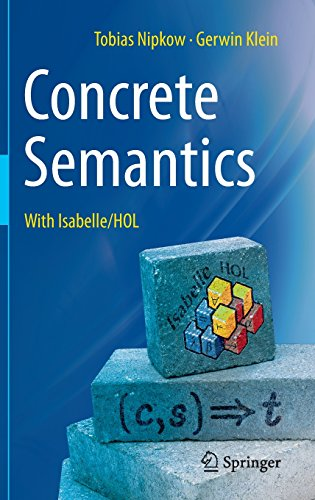 Large book cover: Concrete Semantics: With Isabelle/HOL