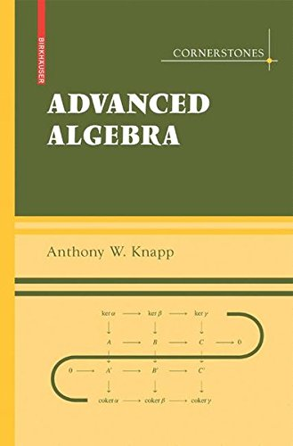 Large book cover: Advanced Algebra