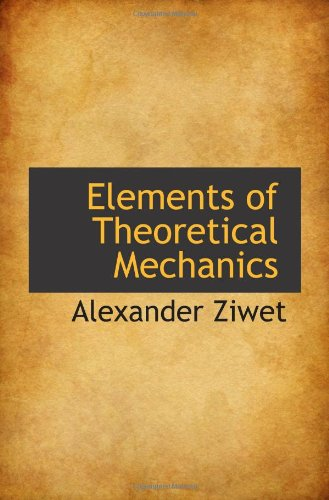 Large book cover: Elements of Theoretical Mechanics