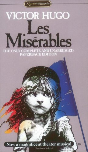 Large book cover: Les Miserables