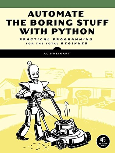 Large book cover: Automate the Boring Stuff with Python