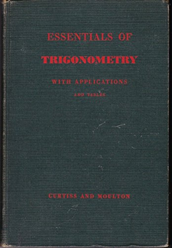 Large book cover: Essentials of Trigonometry with Applications