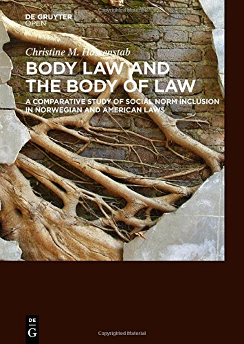 Large book cover: Body Law and the Body of Law