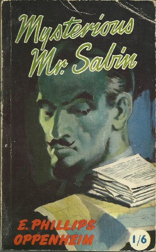 Large book cover: Mysterious Mr. Sabin