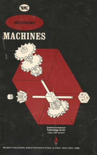 Large book cover: Mechanisms / Machines