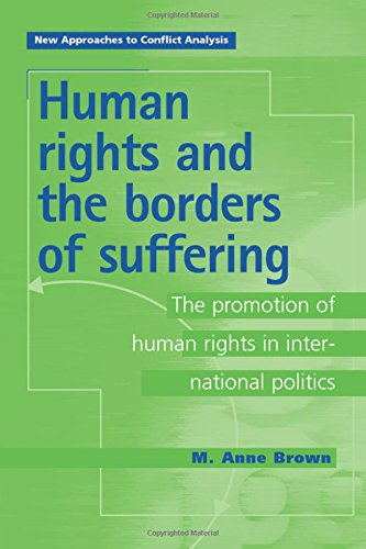 Large book cover: Human Rights and the Borders of Suffering