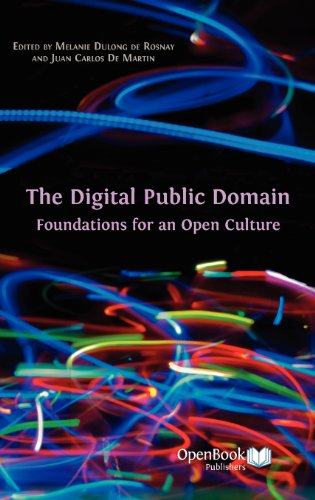 Large book cover: The Digital Public Domain: Foundations for an Open Culture