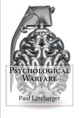Large book cover: Psychological Warfare